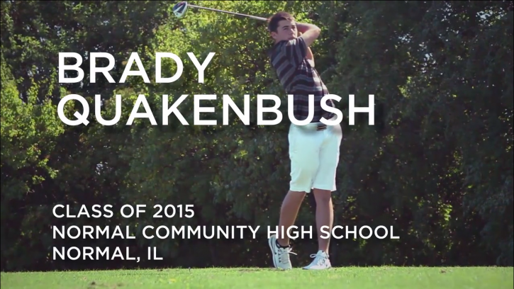 Brady Quakenbush Golf Recruitment