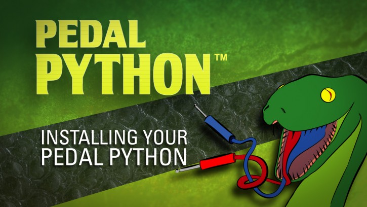 Pedal Python - How to Install